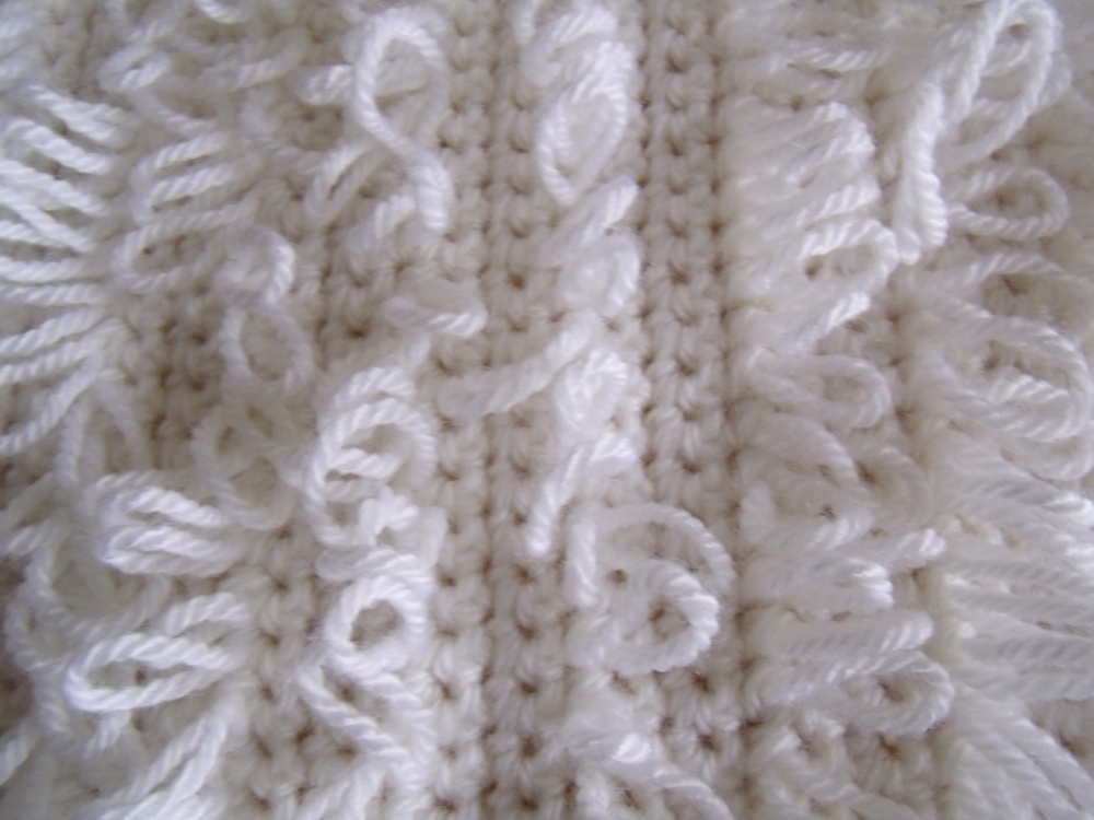 Crochet Patterns Loop Stitch : of double crochet (US - single crochet) and between each loop stitch ...